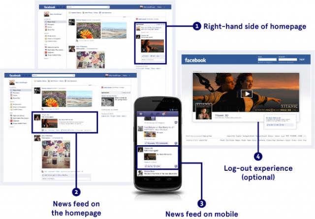 facebook yeni reklam